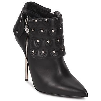 kengät Naiset Nilkkurit Versace DSL894P Black