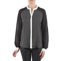 vaatteet Naiset Paitapusero / Kauluspaita Manoukian RAGANE Musta