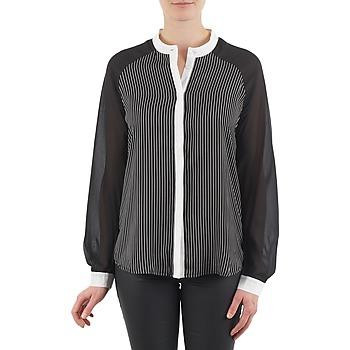 vaatteet Naiset Paitapusero / Kauluspaita Manoukian RAGANE Black