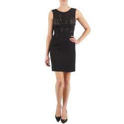 vaatteet Naiset Lyhyt mekko Manoukian EILEEN Black