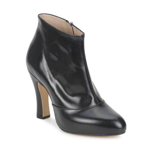 kengät Naiset Nilkkurit Marc Jacobs COLORADO Black