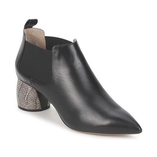 kengät Naiset Nilkkurit Marc Jacobs EQUATORE Black
