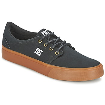 kengät Miehet Matalavartiset tennarit DC Shoes TRASE TX Black / DORE