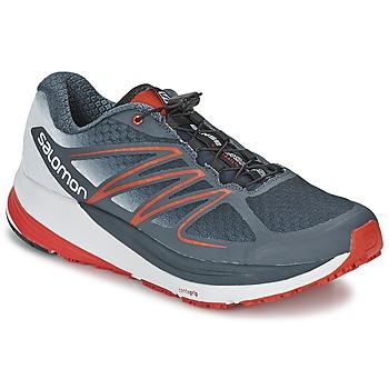 kengät Miehet Juoksukengät / Trail-kengät Salomon SENSE PROPULSE Grey / Red