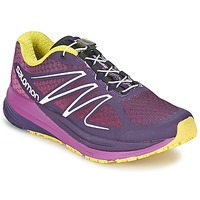 kengät Naiset Juoksukengät / Trail-kengät Salomon SENSE PROPULSE W Violet / Pink / Yellow