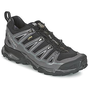 kengät Miehet Vaelluskengät Salomon X ULTRA 2 GTX Black / Grey