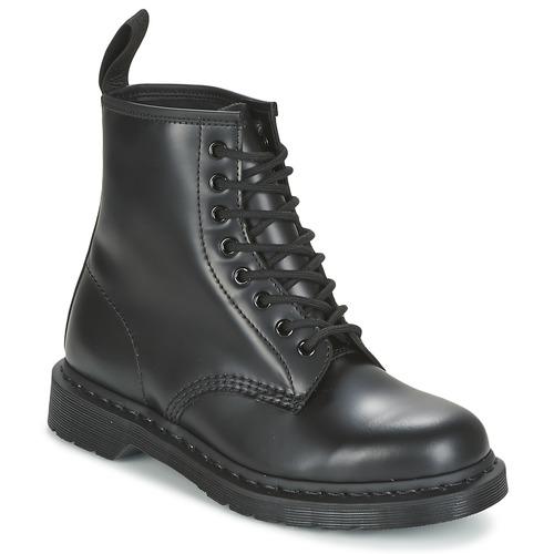 kengät Bootsit Dr Martens 1460 MONO Black / Smooth