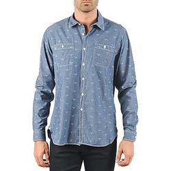 vaatteet Miehet Pitkähihainen paitapusero Barbour LAWSON Blue