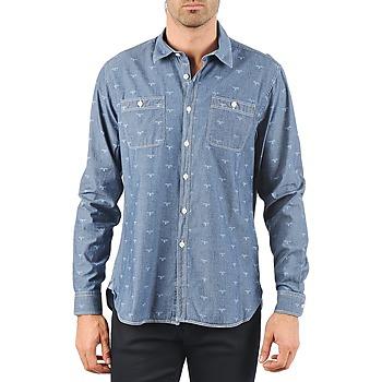 vaatteet Miehet Pitkähihainen paitapusero Barbour LAWSON Sininen