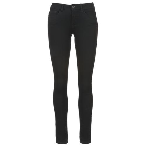 vaatteet Naiset Slim-farkut Only SOFT Black