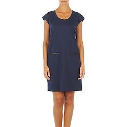 vaatteet Naiset Lyhyt mekko Vero Moda CELINA S/L SHORT DRESS Laivastonsininen