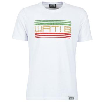 vaatteet Miehet Lyhythihainen t-paita Wati B TSPAIL White