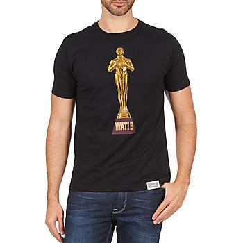vaatteet Miehet Lyhythihainen t-paita Wati B TSOSCAR Black