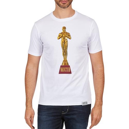 vaatteet Miehet Lyhythihainen t-paita Wati B TSOSCAR White