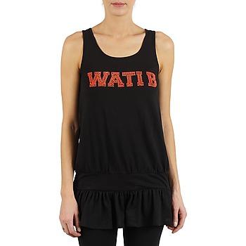 vaatteet Naiset Hihattomat paidat / Hihattomat t-paidat Wati B TUNIQ Black