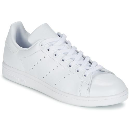 kengät Matalavartiset tennarit adidas Originals STAN SMITH Valkoinen