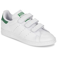 kengät Matalavartiset tennarit adidas Originals STAN SMITH CF White / Green