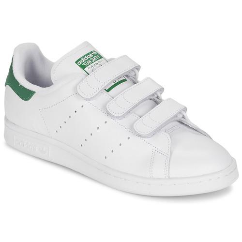kengät Matalavartiset tennarit adidas Originals STAN SMITH CF White / Green