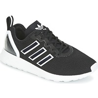 kengät Miehet Matalavartiset tennarit adidas Originals ZX FLUX RACER Black