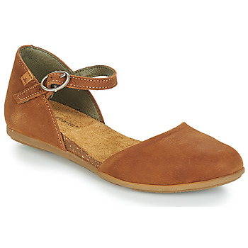 kengät Naiset Balleriinat El Naturalista STELLA Brown