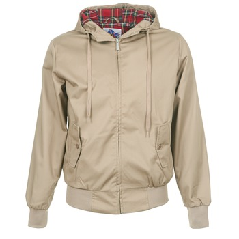 vaatteet Miehet Pusakka Harrington HARRINGTON HOODED Beige
