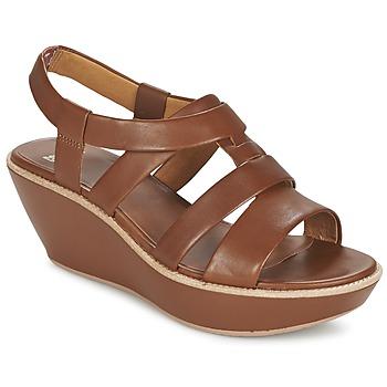 kengät Naiset Sandaalit ja avokkaat Camper DAMAS Ruskea