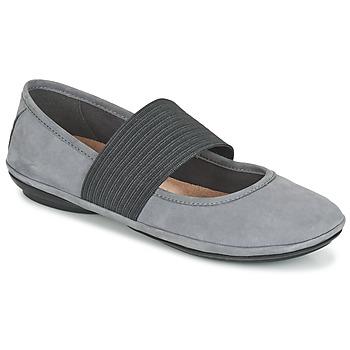 kengät Naiset Balleriinat Camper RIGHT NINA Grey