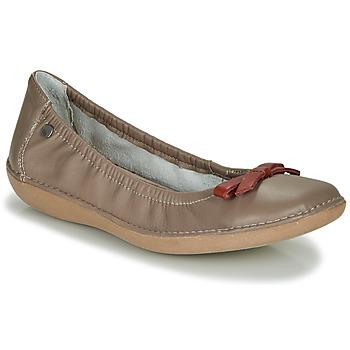kengät Naiset Balleriinat TBS MACASH Taupe