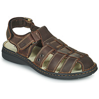 kengät Miehet Sandaalit ja avokkaat TBS BARROW Brown