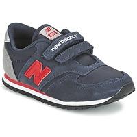 kengät Lapset Matalavartiset tennarit New Balance KE420 Laivastonsininen / Red