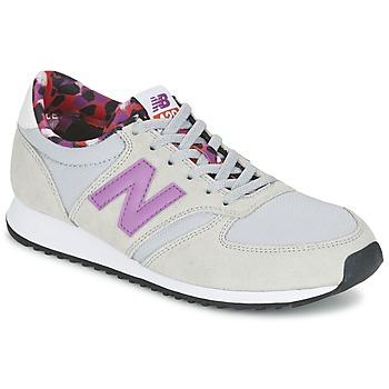kengät Naiset Matalavartiset tennarit New Balance WL420 Grey / Violet