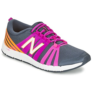 kengät Naiset Fitness / Training New Balance WX811 Grey / Pink / Orange