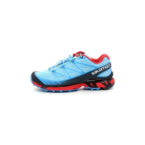 kengät Naiset Juoksukengät / Trail-kengät Salomon Wings Pro Bleu
