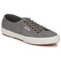 kengät Miehet Matalavartiset tennarit Superga 2750 GALLESU Grey / White