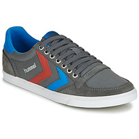 kengät Matalavartiset tennarit Hummel TEN STAR LOW CANVAS Grey / Blue / Red