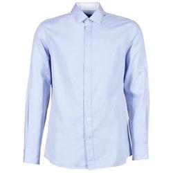 vaatteet Miehet Pitkähihainen paitapusero Hackett SQUARE TEXT MUTLI Blue