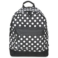 laukut Reput Mi Pac ALL POLKA Black / White