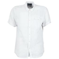 vaatteet Miehet Lyhythihainen paitapusero Chevignon C-LINEN White