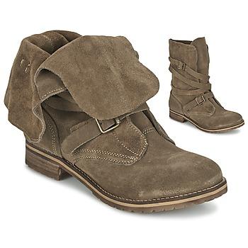 kengät Naiset Bootsit Casual Attitude GRAVINE Brown