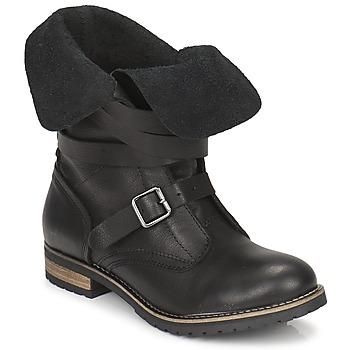 kengät Naiset Bootsit Casual Attitude GRAVINE Black