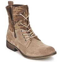kengät Naiset Bootsit Casual Attitude GRIVO Taupe