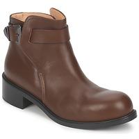kengät Naiset Bootsit Kallisté 5723 Brown