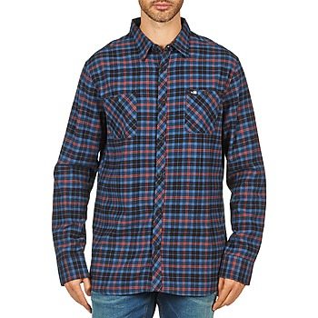 vaatteet Miehet Pitkähihainen paitapusero Rip Curl OBSESSED CHECK FLANNEL L/S SHIRT Blue