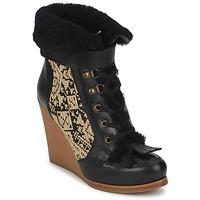 kengät Naiset Nilkkurit Etro DENISE Black / Beige
