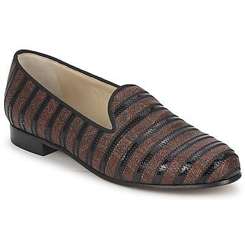 kengät Naiset Mokkasiinit Etro FLORINDA Brown / Black