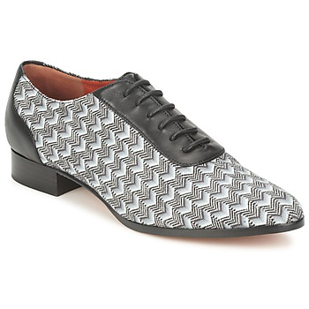 kengät Naiset Herrainkengät Missoni WM076 Black / Grey