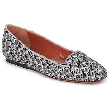 kengät Naiset Mokkasiinit Missoni WM079 Grey