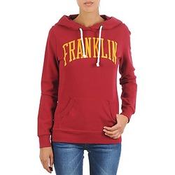 vaatteet Naiset Svetari Franklin & Marshall TOWNSEND Red