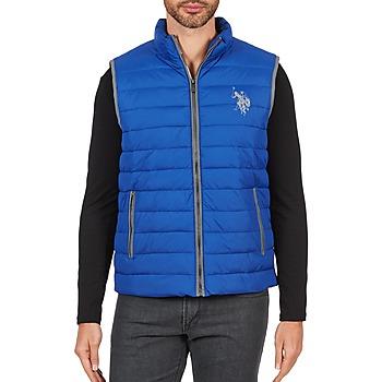 vaatteet Miehet Toppatakki U.S Polo Assn. USPA 1890 Sininen