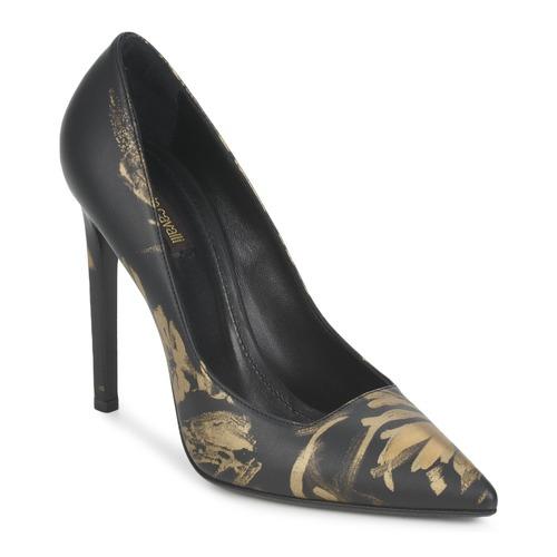 kengät Naiset Korkokengät Roberto Cavalli WDS211 Black
